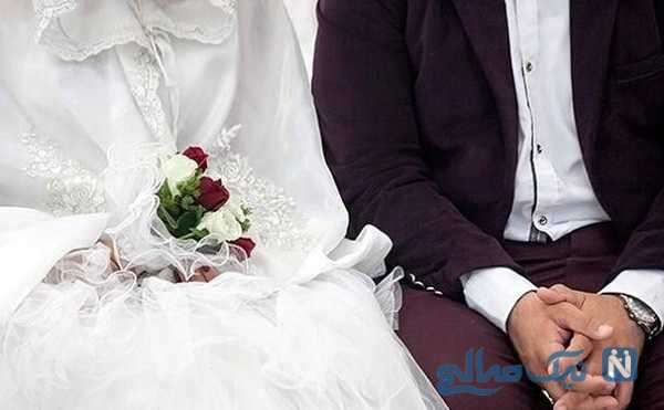 اقدام عجیب عروس داماد برای برگزاری جشن عروسی در کرونا