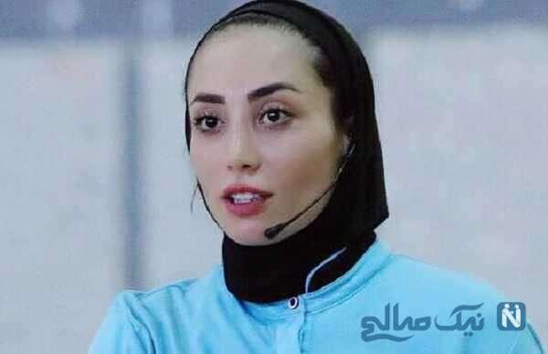 داور زن ایرانی در رقابت های انتخابی جام جهانی فوتسال مردان