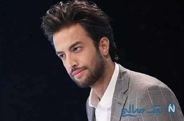 بغض بنیامین بهادری خواننده ایرانی هنگام لایو با دخترش بارانا