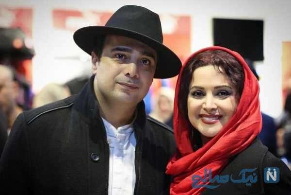 کمند امیرسلیمانی بازیگر زن و برادرش