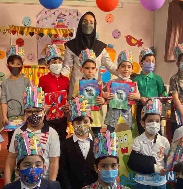 جشن الفبای پسر مصطفی کیایی