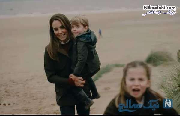 کیت و فرزندانش لوئیز و شارلوت
