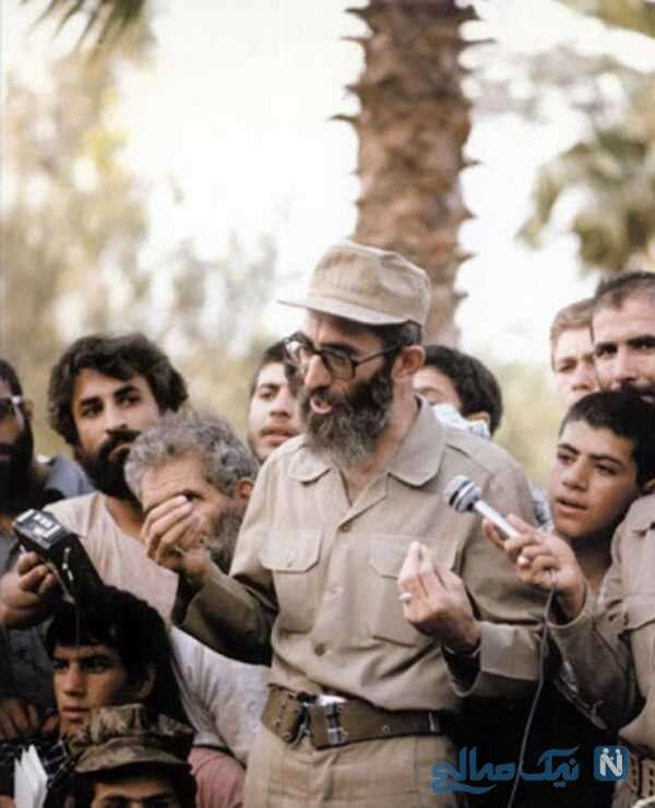 رهبر انقلاب در جبهه جنگ و خرمشهر