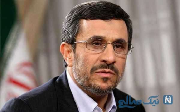 لحظه کاندیداتوری محمود احمدی نژاد در انتخابات ریاست جمهوری ۱۴۰۰