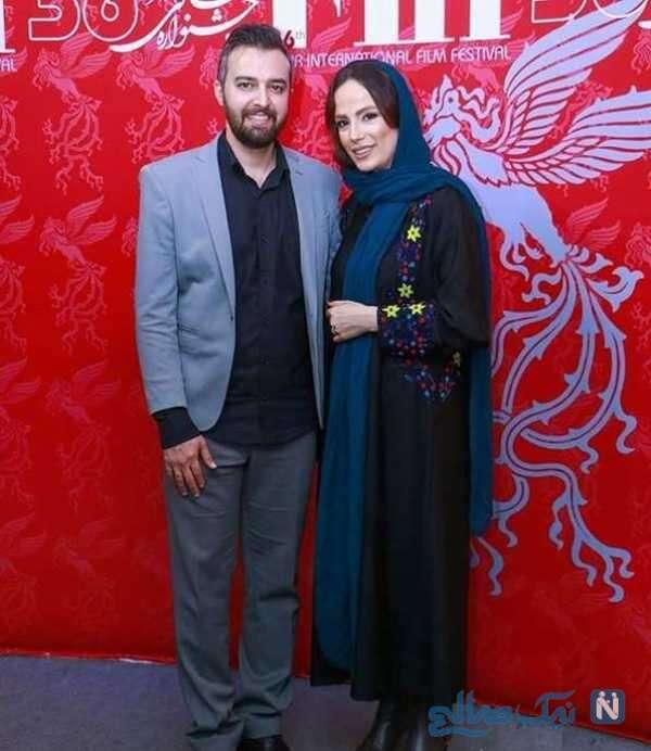 محمودرضا قدیریان و همسرش فرشته آلوسی