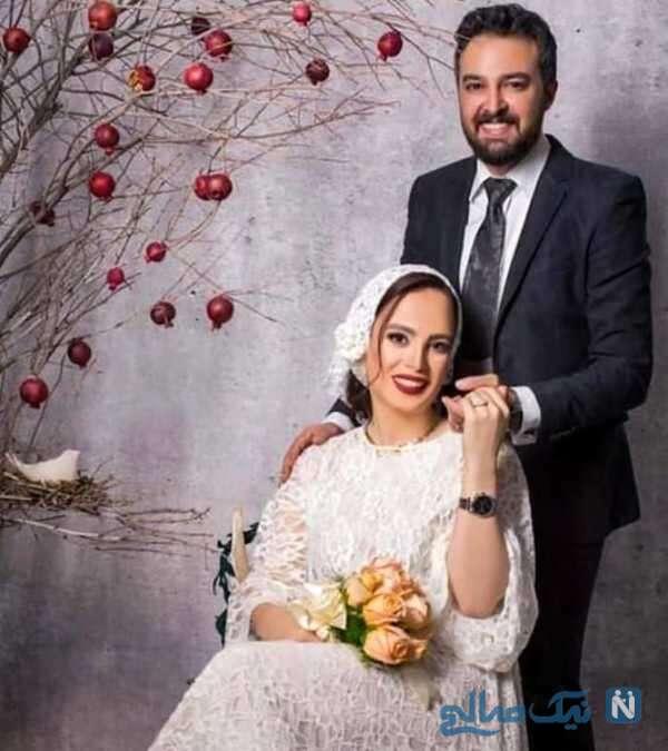 عکس عروسی فرشته آلوسی