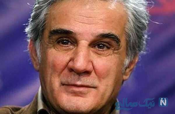 تصویری از لحظه تزریق واکسن کرونا به مهدی هاشمی هنرپیشه معروف