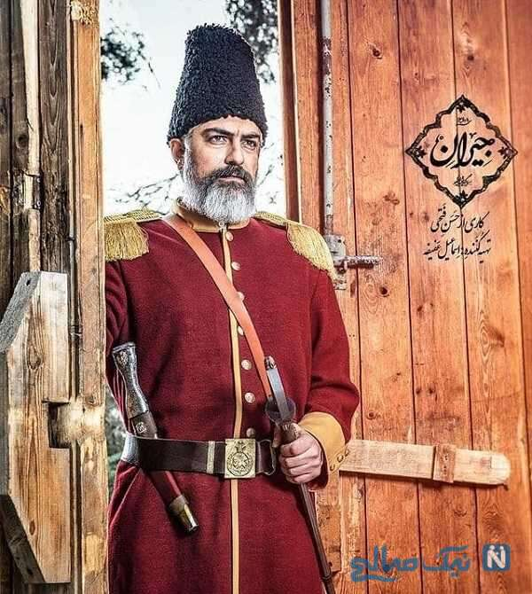 تصویری از مهدی پاکدل در سریال جیران