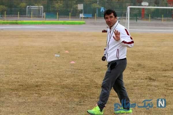 خداداد عزیزی مربی فوتبال