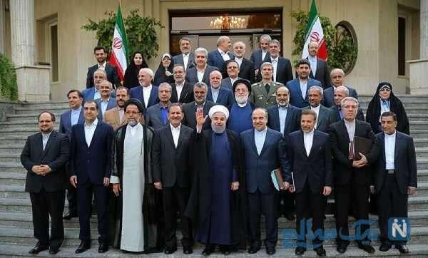 شوخی جالب با وزرای دولت روحانی