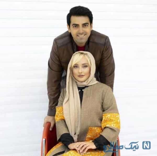 محمدرضا رهبری و زنش