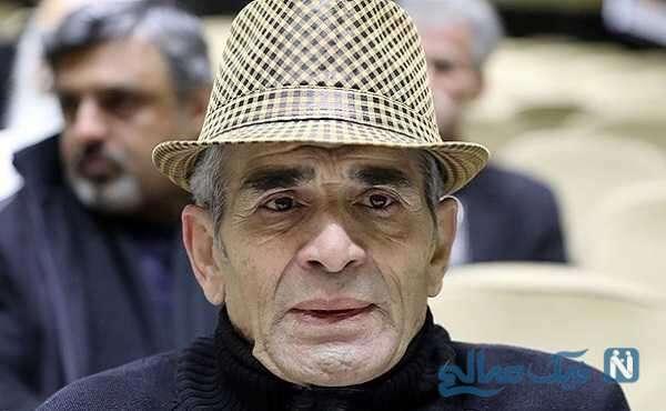 چهره جدید محمد شیری بازیگر شب های برره هنگام زدن واکسن کرونا