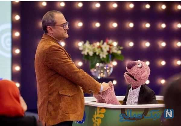 شوخی خنده دار جناب خان در خندوانه