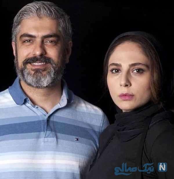 رعنا آزادی ور و همسرش مهدی پاکدل