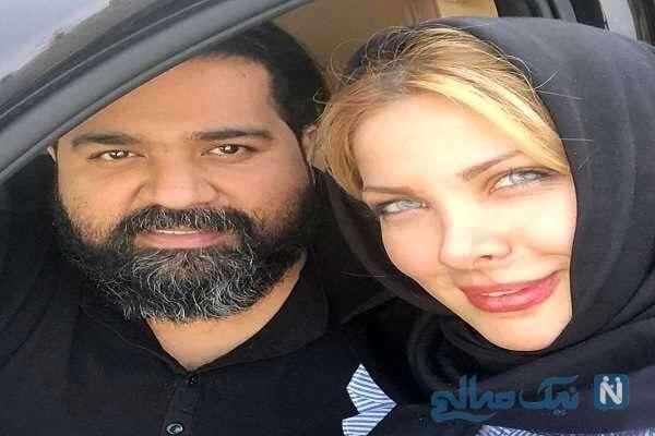 عکس جدید از رضا صادقی و همسرش