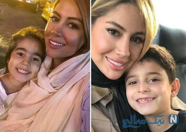 پریا پرتوی فرد و فرزندانش