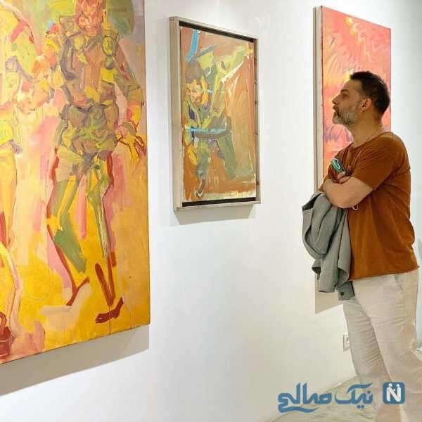 پیمان معادی در گالری نقاشی