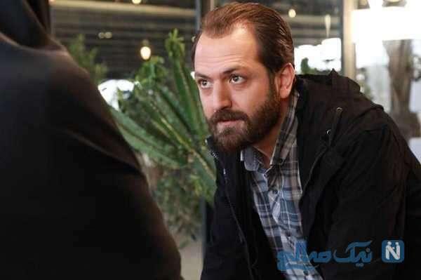 چهره بدون گریم محمدهادی دیباجی بازیگر نقش مهرداد در سریال احضار