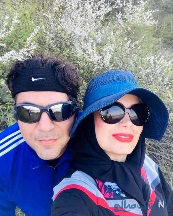 عکس از صبا راد و همسرش