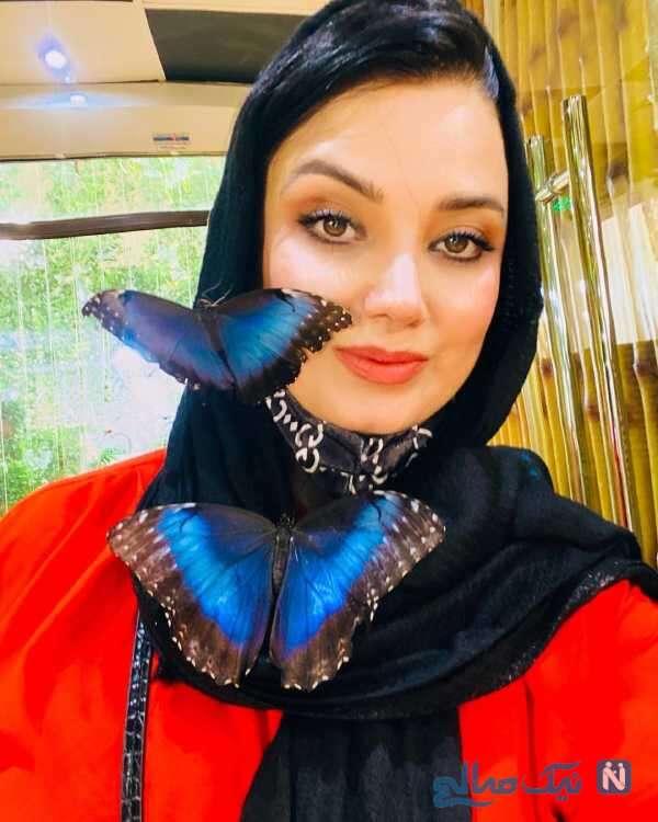 صبا راد در باغ پروانه های دبی
