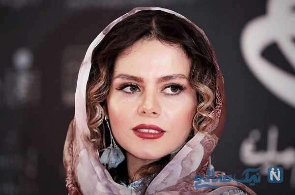 عکس غزال نظر بازیگر احضار در کاخ سی و هشتمین جشنواره جهانی فیلم فجر