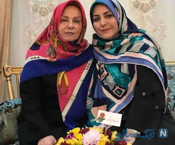 جالب ترین عکس المیرا شریفی مقدم و مادرش