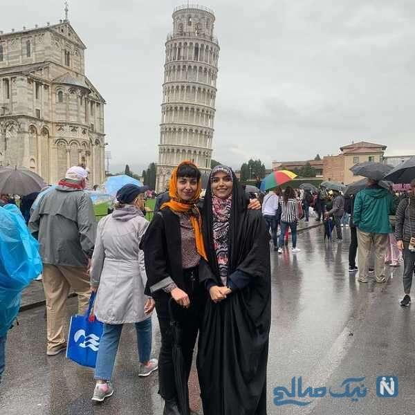 مژده لواسانی در ایتالیا
