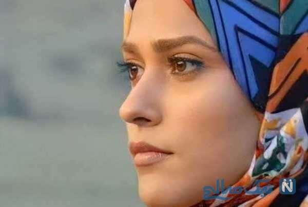 عکس های آدرینا صادقی بازیگر سریال احضار بدون گریم و با چهره کاملا متفاوت