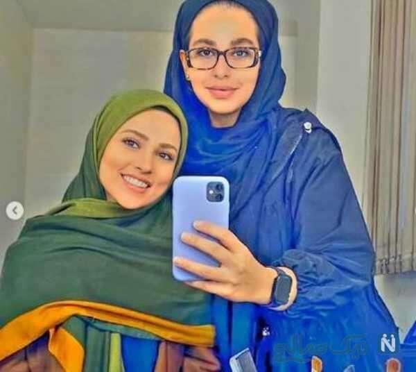 عکس های آدرینا صادقی بازیگر سریال احضار