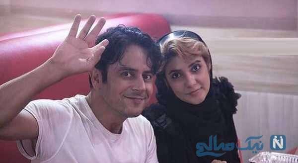 جالب ترین عکس های رحیم نوروزی باهمسرش