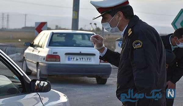 ویدئویی جالب از ترفند پلیس بابل برای کمک به یک شهروند