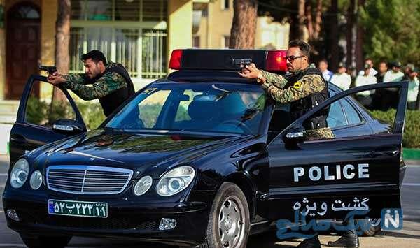 ترفند پلیس