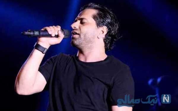 خوانندگی رضا بهرام در کنسرت کیش
