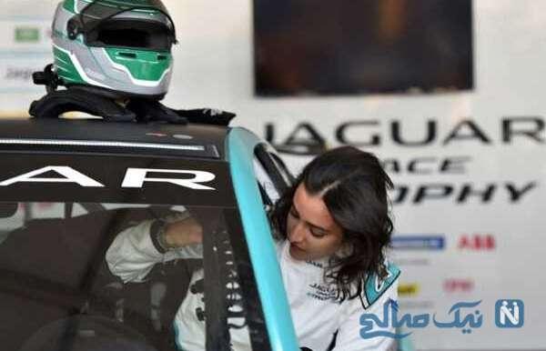 ریما جفالی ۲۹ ساله زن راننده عربستانی فرمول ۳ به مرحله بعد صعود کرد