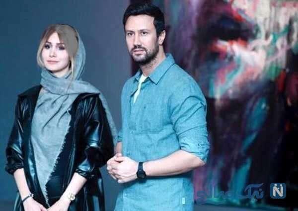 عکس سلفی شاهرخ استخری و همسرش