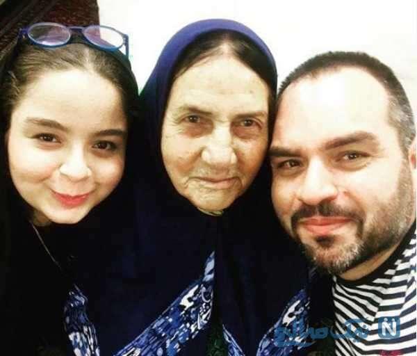 مادر و دختر شهرام قائدی