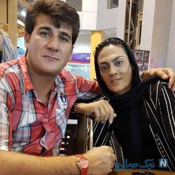 ووشوکار ایرانی و همسرش