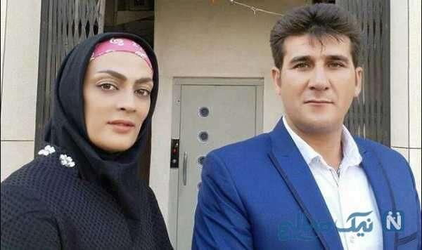 شهربانو منصوریان ووشوکار ایرانی و همسرش