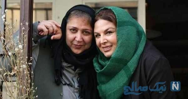 عکس جدید شهره لرستانی و خانم بازیگر