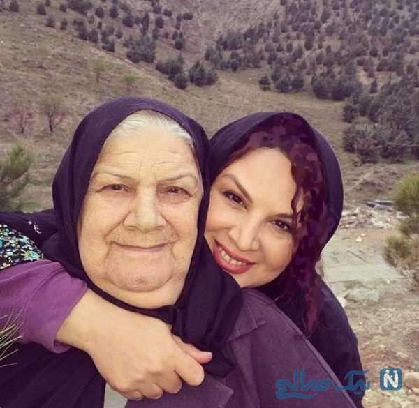 شهره سلطانی بازیگر زن و مادرش