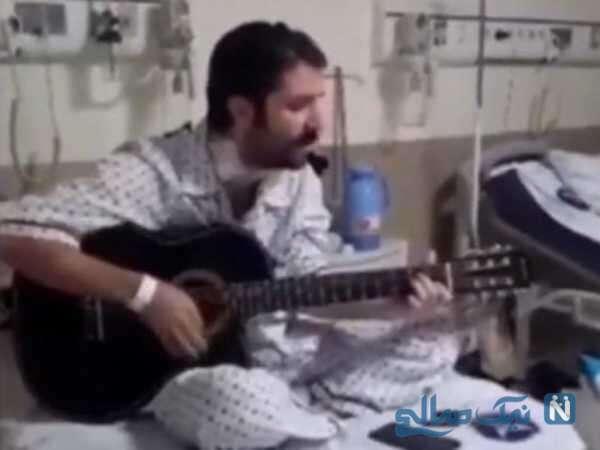 حمید هیراد در بیمارستان
