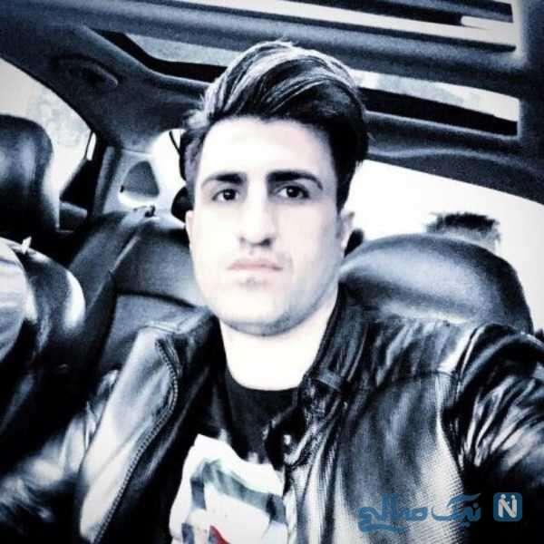 محسن لرستانی در ماشین