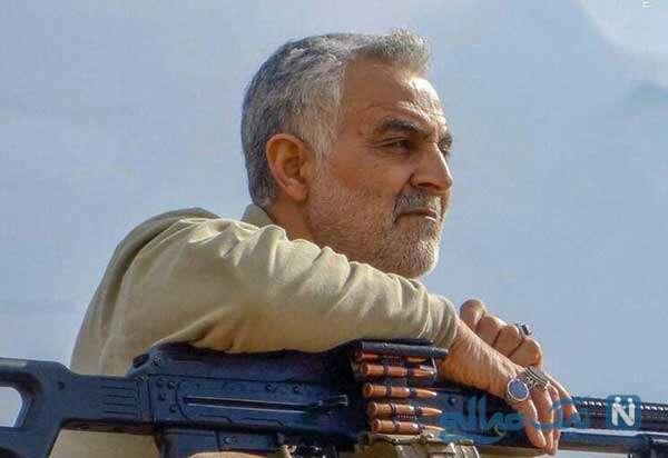تندیس سردار شهید سلیمانی در تهران رونمایی شد