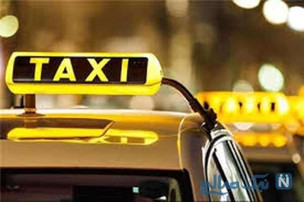 راننده تاکسی در برنامه دعوت