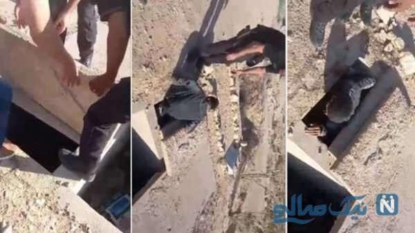 درخواست کمک مرد تونسی بعداز خودکشی