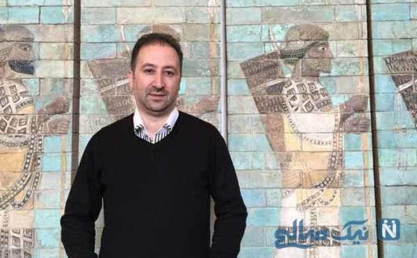 تصویری از محمد دلاوری مجری تلویزیون