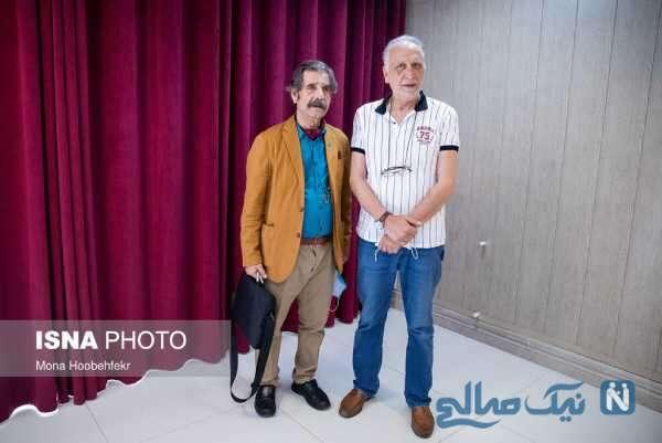 تزریق واکسن به هنرمندان پیشکسوت ایران