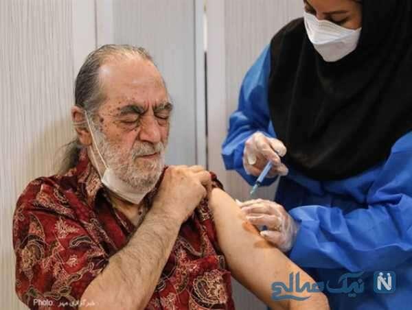 واکسیناسیون گروه دوم هنرمندان پیشکسوت