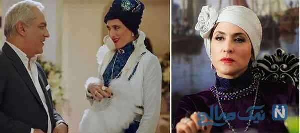 ویشکا آسایش هنرپیشه ایرانی در سریال دراکولا