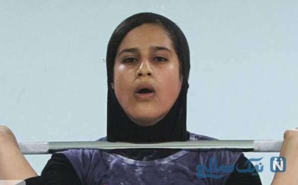 قهرمانی یکتا جمالی دختر وزنهبردار ایران در رقابت های جوانان جهان